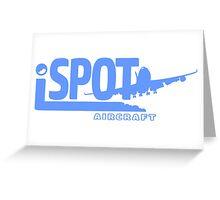 iSPOT Aircraft Greeting Card