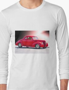 1938 Ford 'Five Window' Coupe Long Sleeve T-Shirt