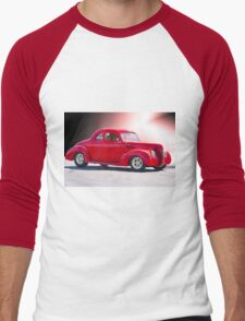 1938 Ford 'Five Window' Coupe Men's Baseball ¾ T-Shirt