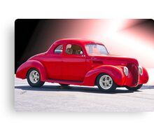1938 Ford 'Five Window' Coupe Canvas Print