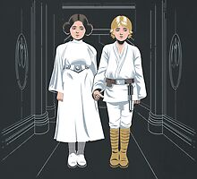 SKYWALKER TWINS by Adams Pinto