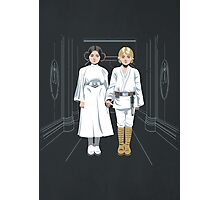 SKYWALKER TWINS Photographic Print