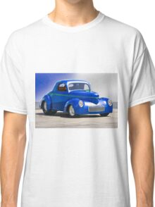 1941 Willys Coupe 'Blue Studio' Classic T-Shirt
