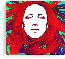 Annette Peacock amazing design! Canvas Print