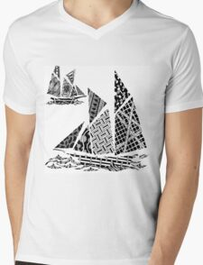 Sail Mens V-Neck T-Shirt