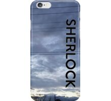 BBC Sherlock Blue Skyline. Shirt, Wallet, Case, Journal, Pillow, and Tote  iPhone Case/Skin