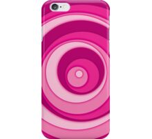 Nested Dots - Pink iPhone Case/Skin