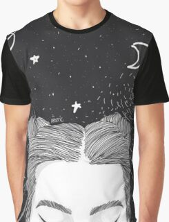 Space Buns Graphic T-Shirt