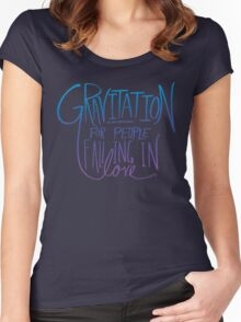 Einstein: Gravitation Women's Fitted Scoop T-Shirt