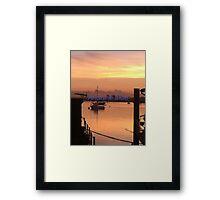 River Crouch Sunset 2 Framed Print