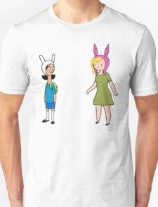 Fionna and Louise Crossover T-Shirt