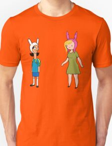 Fionna and Louise Crossover Unisex T-Shirt