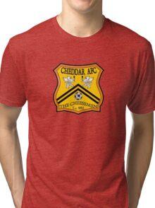 Cheddar AFC Badge Tri-blend T-Shirt