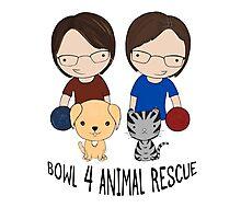 2016 Exclusive Bowl-4-Animal Rescue Design Photographic Print