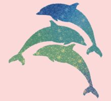 Leaping Dolphins  Kids Tee