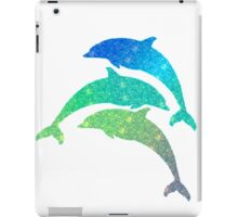 Leaping Dolphins  iPad Case/Skin