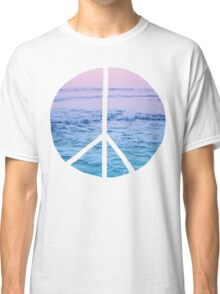 Waves and Peace Classic T-Shirt