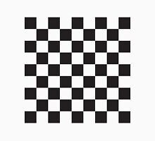Checkerboard Black and White Blocks Unisex T-Shirt