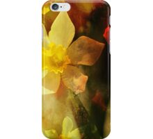 Daffie Dreams Abstract iPhone Case/Skin