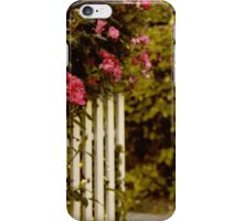 White Picket Fence iPhone Case/Skin
