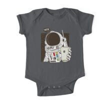 Houston... We have a Coffee!  One Piece - Short Sleeve