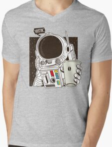Houston... We have a Coffee!  Mens V-Neck T-Shirt