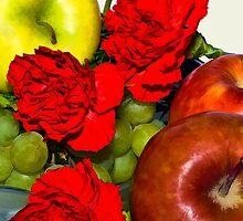 Fruit and Flowers by Joy  Rector