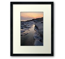 Southerndown Sunset Framed Print