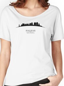 Halifax Nova Scotia Cityscape Women's Relaxed Fit T-Shirt
