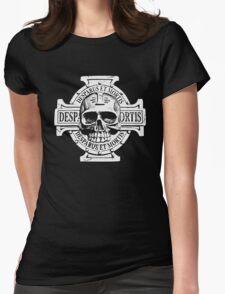 Warhammer 40k Chaos Marines Skull no. 2 Womens Fitted T-Shirt