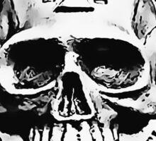 Warhammer 40k Chaos Marines Skull no. 2 Sticker