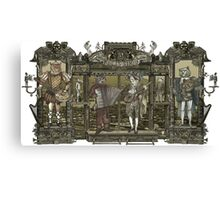 Steampunk Rock Band Canvas Print