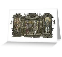 Steampunk Rock Band Greeting Card
