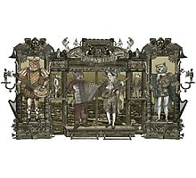 Steampunk Rock Band Photographic Print