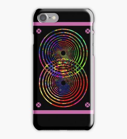 Speaker Beats! (Destructive interference)  iPhone Case/Skin