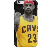LeBron James- 2016 Cavaliers NBA Champions iPhone Case/Skin