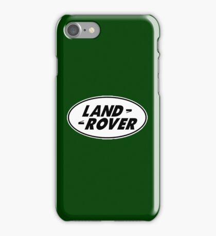 LAND ROVER iPhone Case/Skin