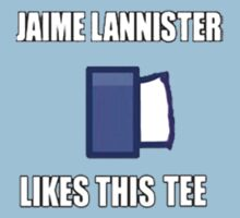Jaime Lannister like this tee ! by alemag