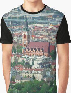 Donaufeld, Wien Österreich Graphic T-Shirt