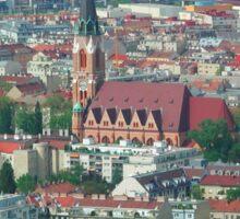 Donaufeld, Wien Österreich Sticker