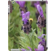 Lavender and Bee iPad Case/Skin