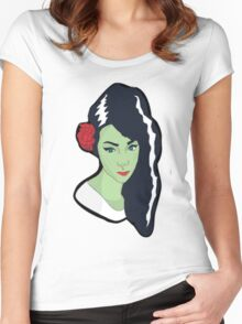 The Bride of Frankenstein Women's Fitted Scoop T-Shirt