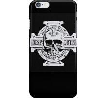 Warhammer 40k Chaos Marines Skull no. 3 iPhone Case/Skin