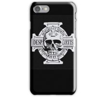 Wh40k Chaos Marines Skull no. 3 iPhone Case/Skin