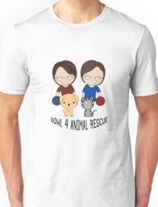 2016 Exclusive Bowl-4-Animal Rescue Design Unisex T-Shirt