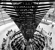 Reichstag dome / Berlin by Stavros