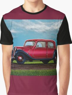 Citroen Traction Avant Painting Graphic T-Shirt