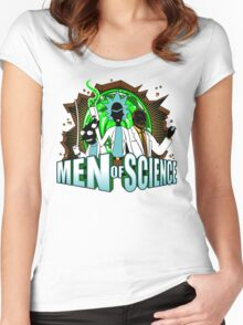 Men of Science Women's Fitted Scoop T-Shirt