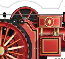 STEAMPUNK STEAM ENGINE DESIGN Sticker