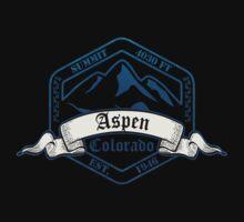 Aspen Ski Resort Colorado Kids Tee